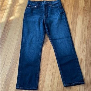 Gap Dark Indigo Straight Leg Jeans 29R